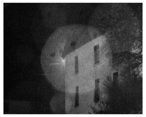 a house (darkroom print)