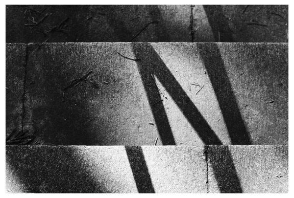 stairs (darkroom print)